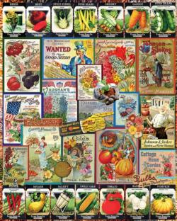 Garden Seeds Plants Jigsaw Puzzle