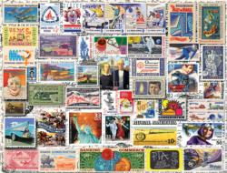 Classic Stamps Collage Jigsaw Puzzle