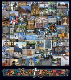 CrossIn America Collage Jigsaw Puzzle