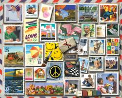 America Smiles Collage Jigsaw Puzzle
