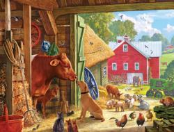 Barnyard Buddies Farm Animals Jigsaw Puzzle
