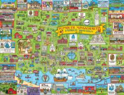 Plymouth Collage Jigsaw Puzzle