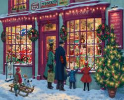 Christmas Toy shop Christmas Jigsaw Puzzle