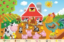 Farm Friends Summer Children's Puzzles