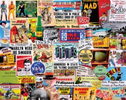 Fabulous 50's Collage Jigsaw Puzzle