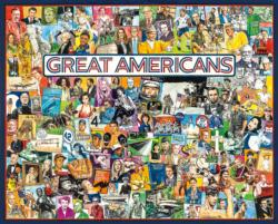 Great Americans Collage Jigsaw Puzzle