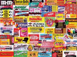 Candy Lane Nostalgic / Retro Jigsaw Puzzle