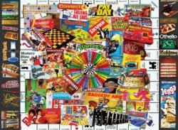 Games We Loved Collage Family Puzzle