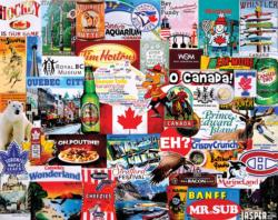 I Love Canada Collage Jigsaw Puzzle