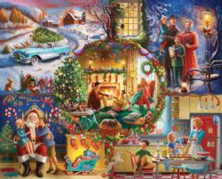 Christmas Traditions Christmas Jigsaw Puzzle