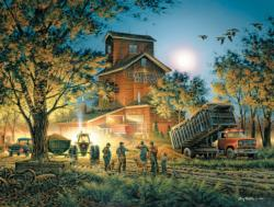 Bountiful Harvest Countryside Jigsaw Puzzle