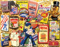Favorite Snacks Collage Jigsaw Puzzle