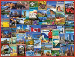 Best Places in Canada Collage Impossible Puzzle
