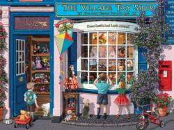 Village Toy Shop Nostalgic / Retro Jigsaw Puzzle