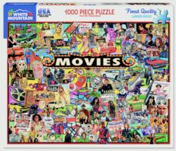 The Movies Collage Jigsaw Puzzle