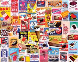 Ice Cream Bars Sweets Jigsaw Puzzle