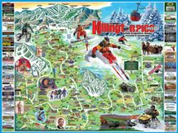 I Love Killington-Pico Maps / Geography Jigsaw Puzzle