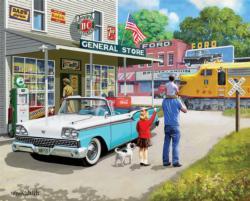 American Classics Nostalgic / Retro Jigsaw Puzzle