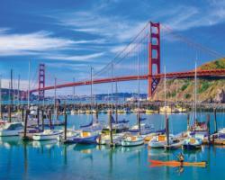 Golden Gate Bridge San Francisco Jigsaw Puzzle