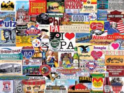 I Love Pennsylvania Collage Jigsaw Puzzle