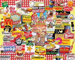 I Love Breakfast Collage Impossible Puzzle