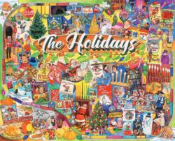 The Holidays Collage Impossible Puzzle