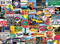 New York New York Collage Jigsaw Puzzle
