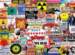 Baby Boomers Collage Jigsaw Puzzle