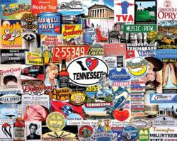 I Love Tennessee Collage Jigsaw Puzzle