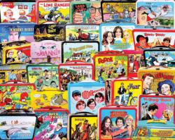 TV Lunch Boxes Collage Impossible Puzzle