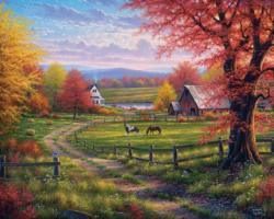 Peaceful Tranquility Lakes / Rivers / Streams Jigsaw Puzzle