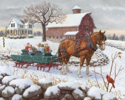 Christmas Delivery Christmas Jigsaw Puzzle