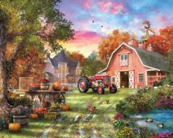 Farm Life Landscape Jigsaw Puzzle
