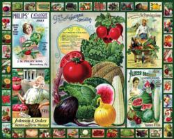 Everything for the Garden Nostalgic / Retro Jigsaw Puzzle