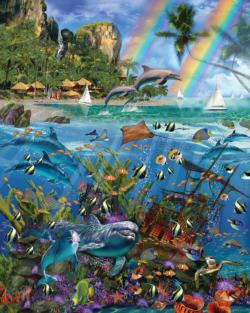 Tropical Treasures Under The Sea Jigsaw Puzzle