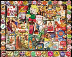 Soda Pop Collage Jigsaw Puzzle