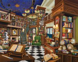 Book Dealer Nostalgic / Retro Jigsaw Puzzle