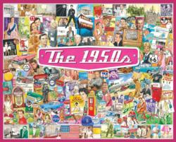The 1950s Collage Jigsaw Puzzle