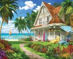 Beach House Beach Large Piece