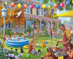 Backyard BBQ Outdoors Jigsaw Puzzle