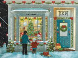 Tis The Season Christmas Large Piece