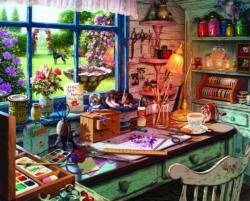 Mom's Craft Room Crafts & Textile Arts Large Piece