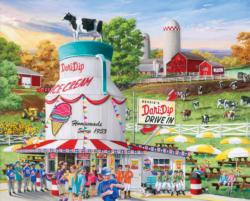 Dairy Bar Food and Drink Large Piece