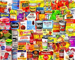 Foods We Loved Collage Jigsaw Puzzle