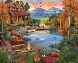 Paradise Lake Cottage / Cabin Large Piece