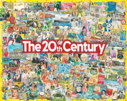 The 20th Century Collage Large Piece