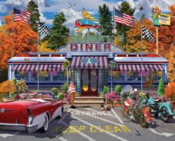 Bill & Sally's Diner Food and Drink Large Piece