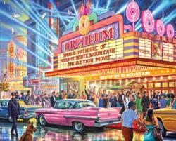 Hollywood Premier Nostalgic / Retro Large Piece