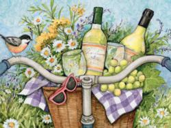 Garden Cheers Bicycles Jigsaw Puzzle
