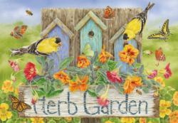 Herb Garden Garden Jigsaw Puzzle